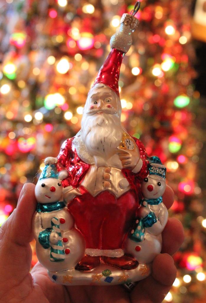 William Joyce Santa in Radko Ornament Form