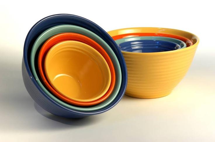 Bauer Mixing Bowls