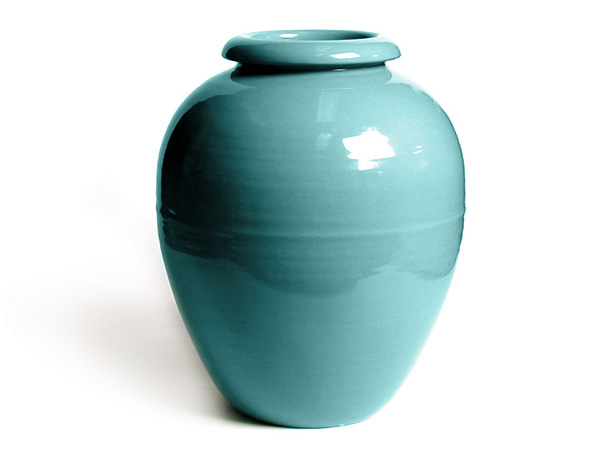Bauer Oil Jar in Aqua