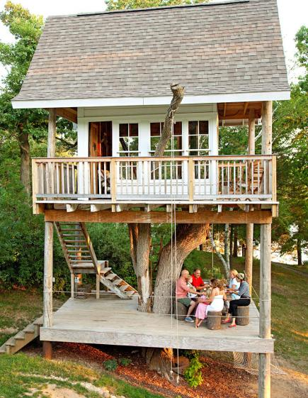Camp Wandawega Tree House