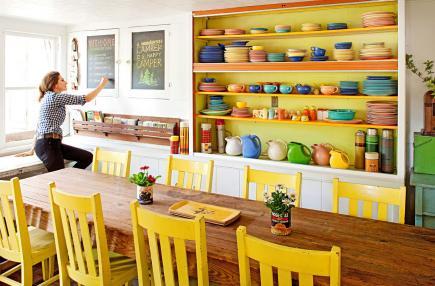 Dining Room at Camp Wandawega
