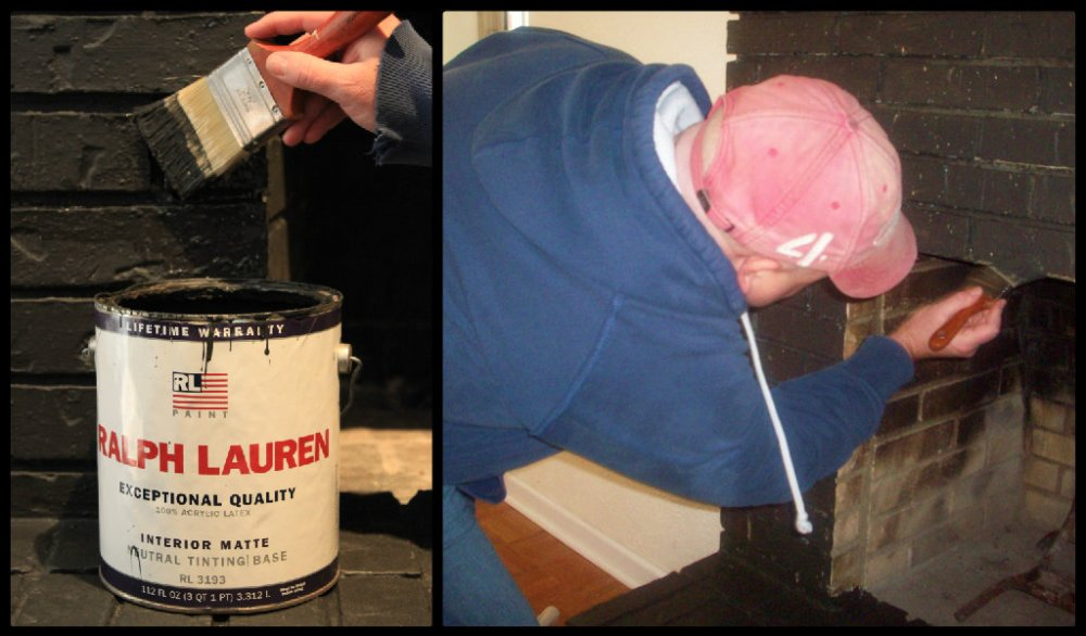 Jamie Painting the Brick Fireplace Collage2.jpg
