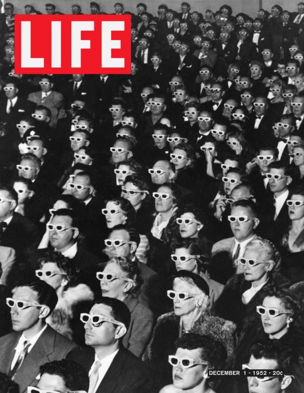 Life Magazine Cover 3D Glasses