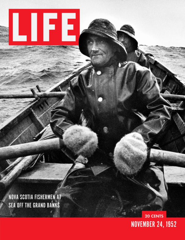 Life Magazine Cover Fishermen