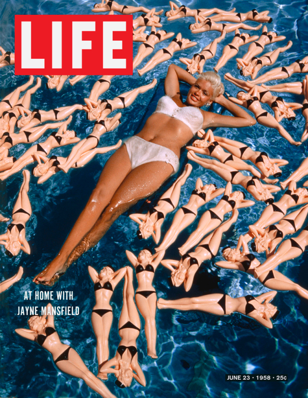 Life Magazine Cover Jane Mansfield