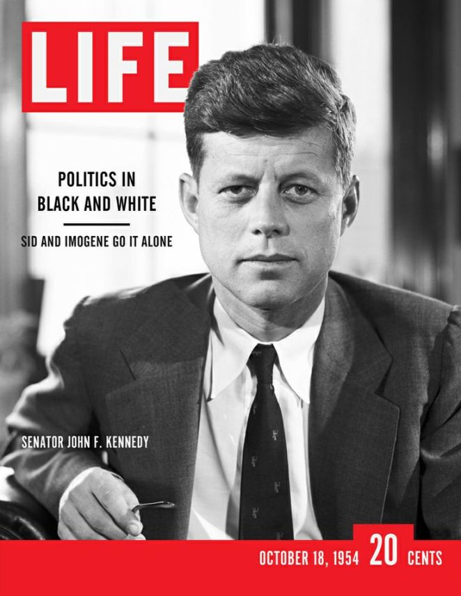 Life Magazine Cover JFK