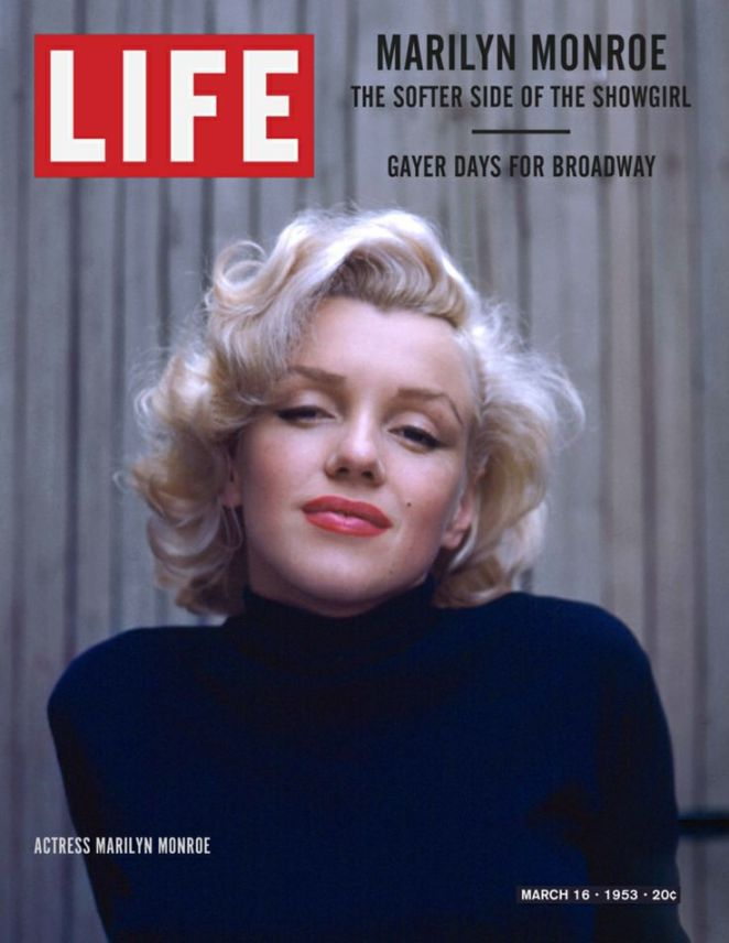 Life Magazine Cover Marilyn