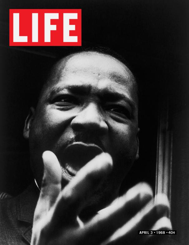 Life Magazine Cover MLK