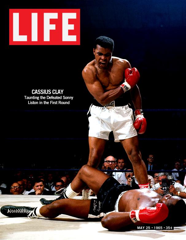 Life Magazine Cover Muhammad Ali