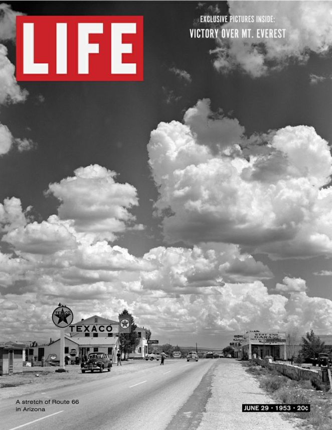 Life Magazine Cover Route 66