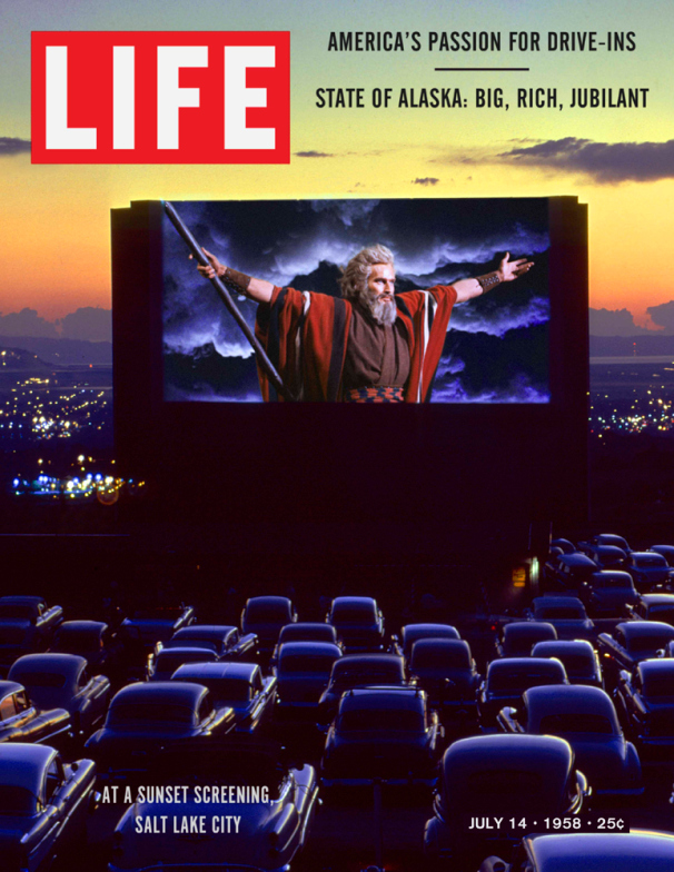 Life Magazine Cover The 10 Commandments