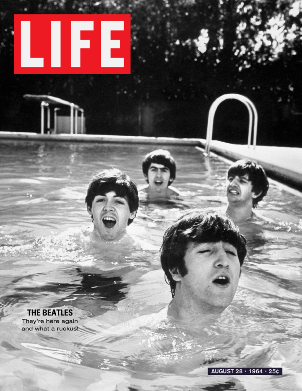 Life Magazine Cover The Beatles