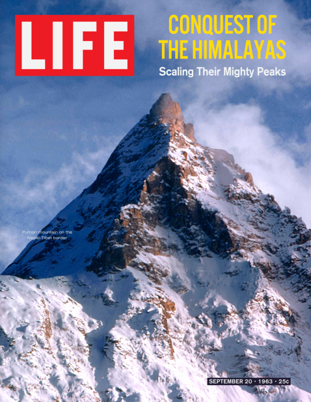 Life Magazine Cover The Himalayas