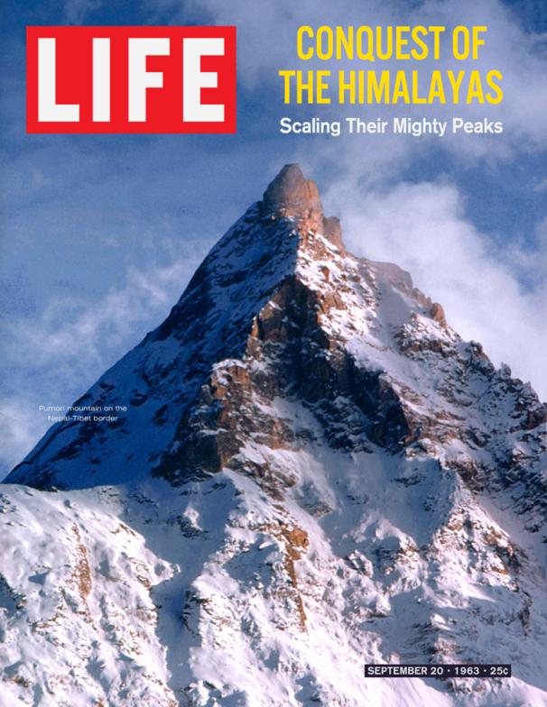 Life Magazine Cover The Himalayas