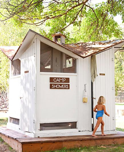 The Bath House at Camp Wandawega