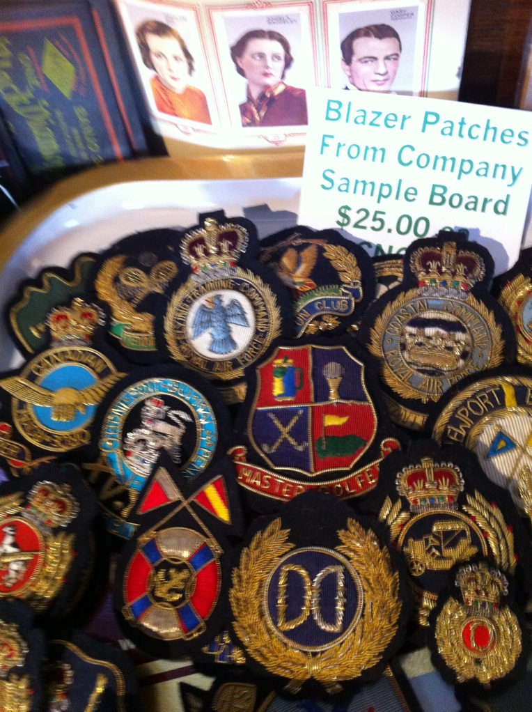 Vintage Crests at the Uncommon Market