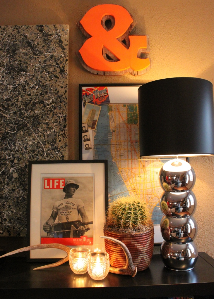 Vintage Life Magazine in Ikea Frame