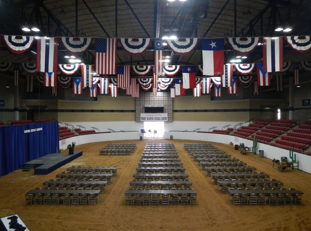Auditorium at the Ft Worth Stock Show
