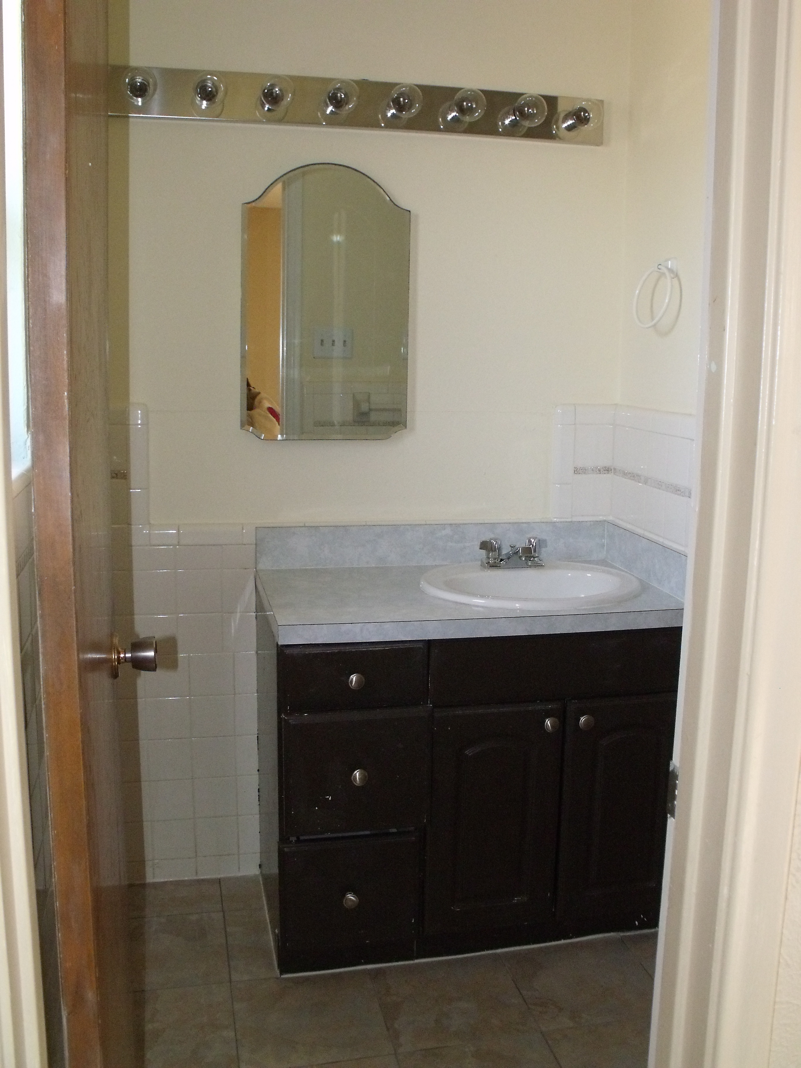 Bathroom Light Not Centered Over Sink driving out the darkness… | the cavender diary