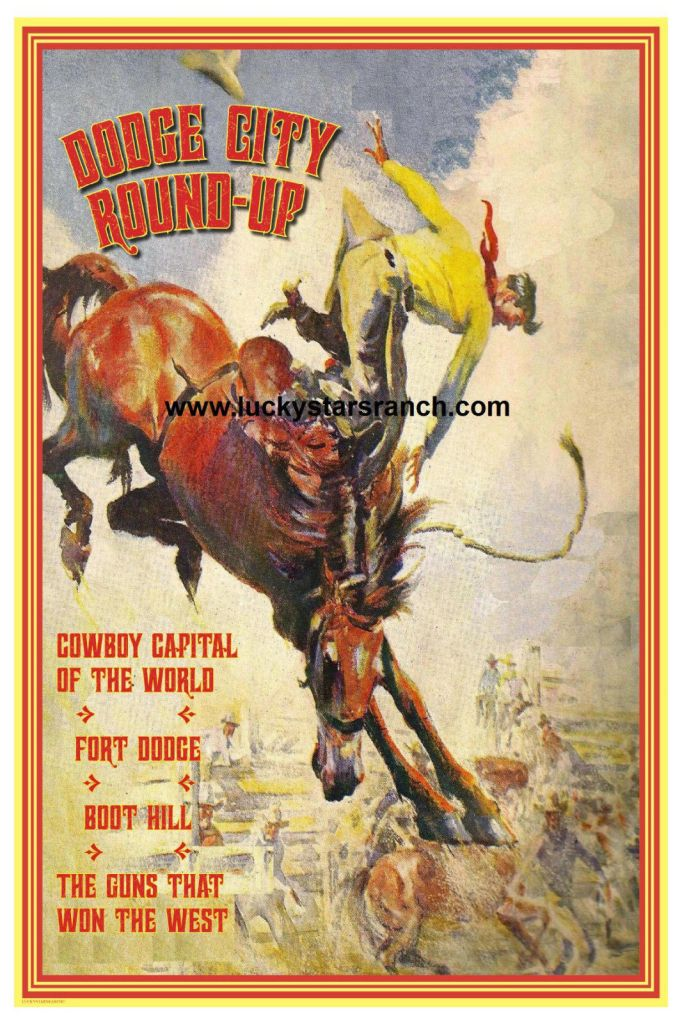 Dodge City Round Up Poster @ Lucky Stars Ranch