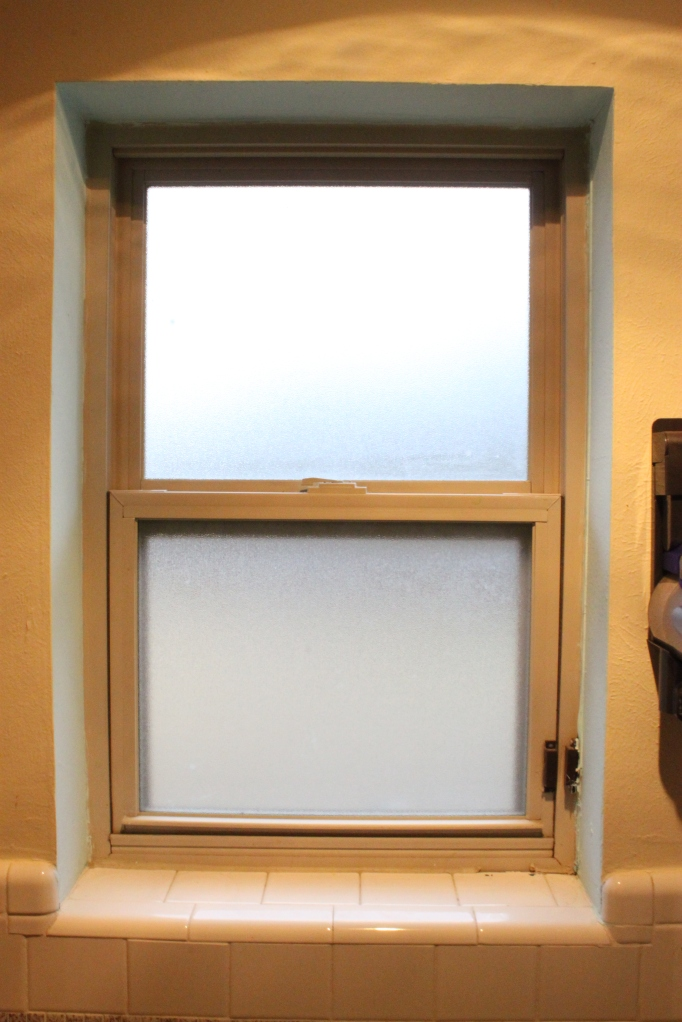 Master Bathroom Window
