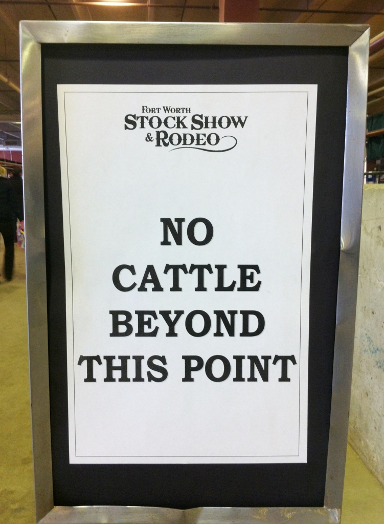 No Cattle Beyond This Point
