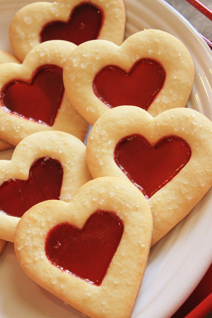 Stained Glass Heart Cookies | THE CAVENDER DIARY