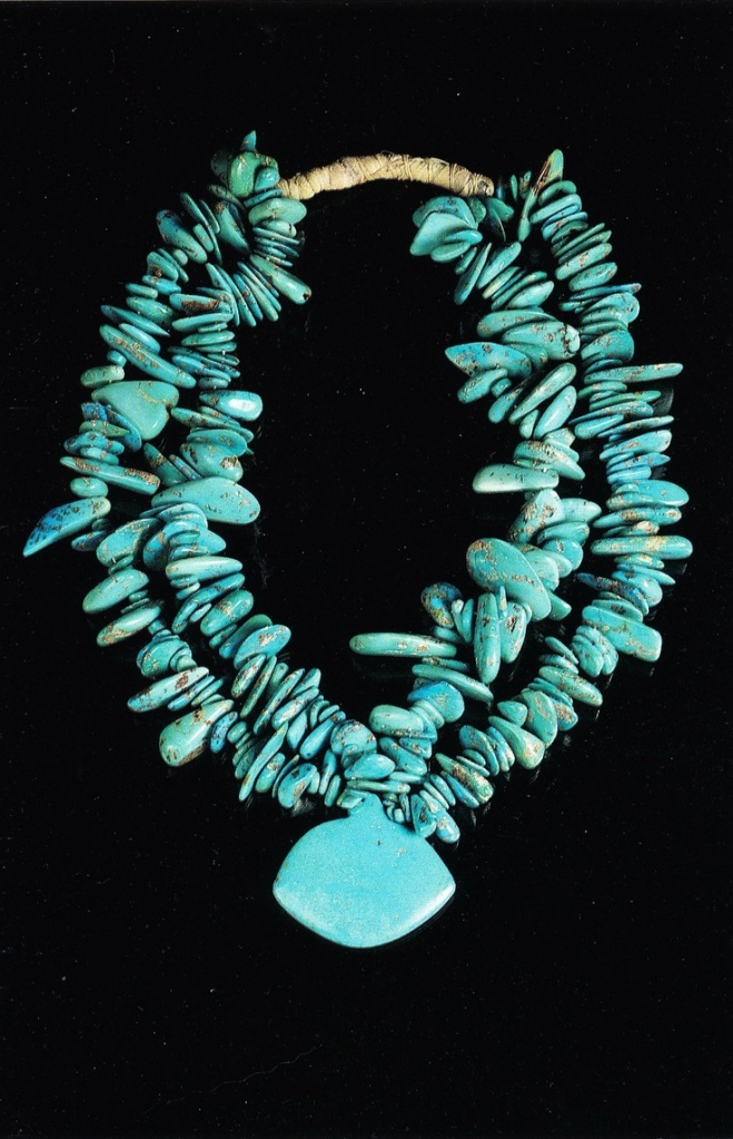 Turquoise Necklace from the Millicent Rogers Museum in Taos New Mexico