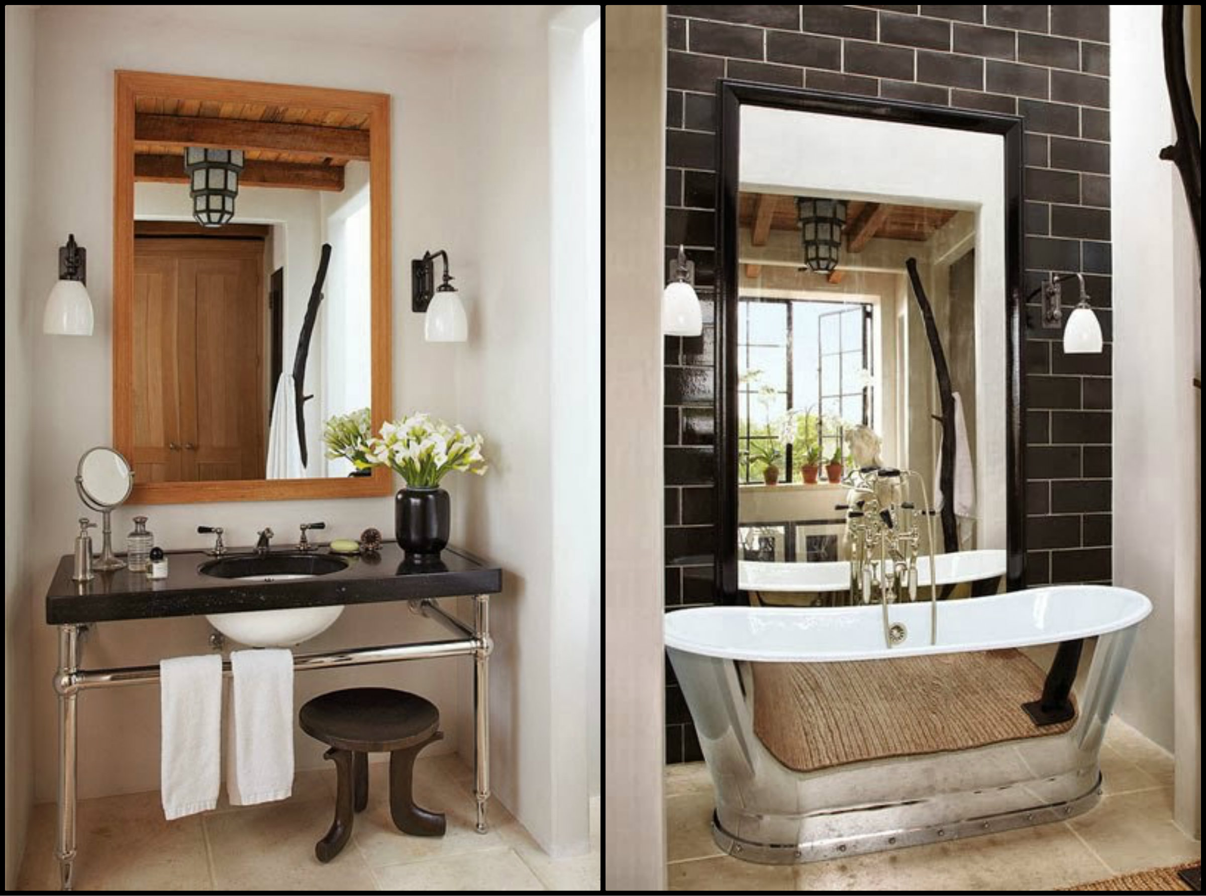 Architectural digest the cavender diary Architectural digest master bathrooms