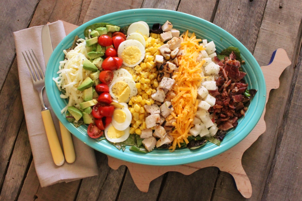 Beautiful and Delicious Southwestern Cobb Salad