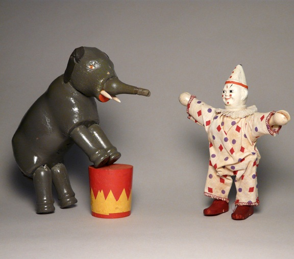 Humpty Dumpty Circus Elephant and Clown