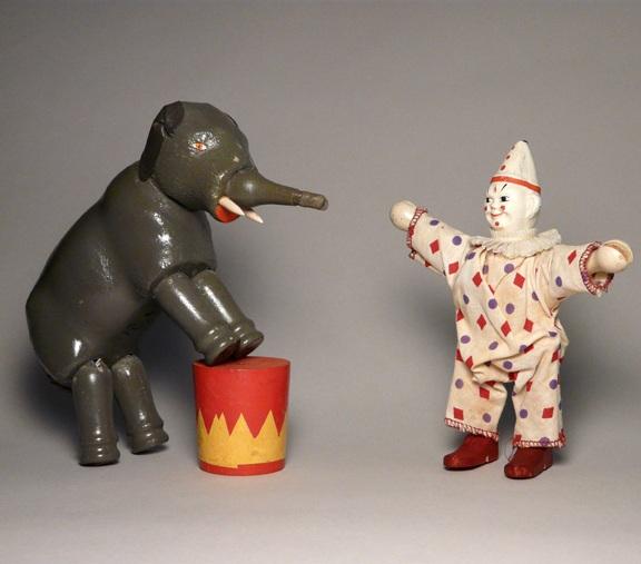 Humpty Dumpty Circus Elephant and Clown