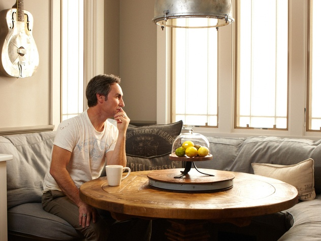 Mike Wolfe in his Dining Nook from Nashville Insider Magazine