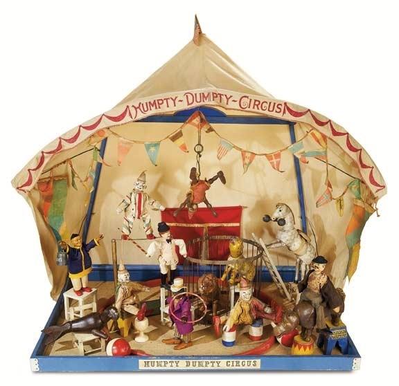 Schoenfeld's Humpty Dumpty Circus Pop-Up Circus Tent