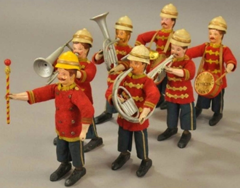 Schoenhut's Humpty Dumpty Circus Marching Band