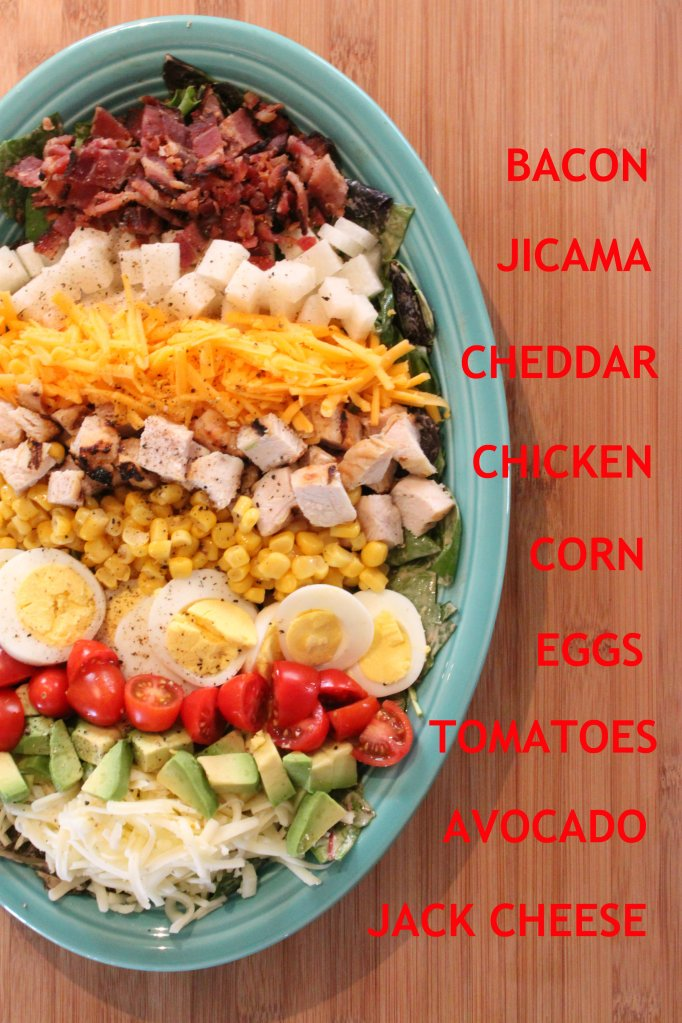 Southwestern Cobb Salad Layers