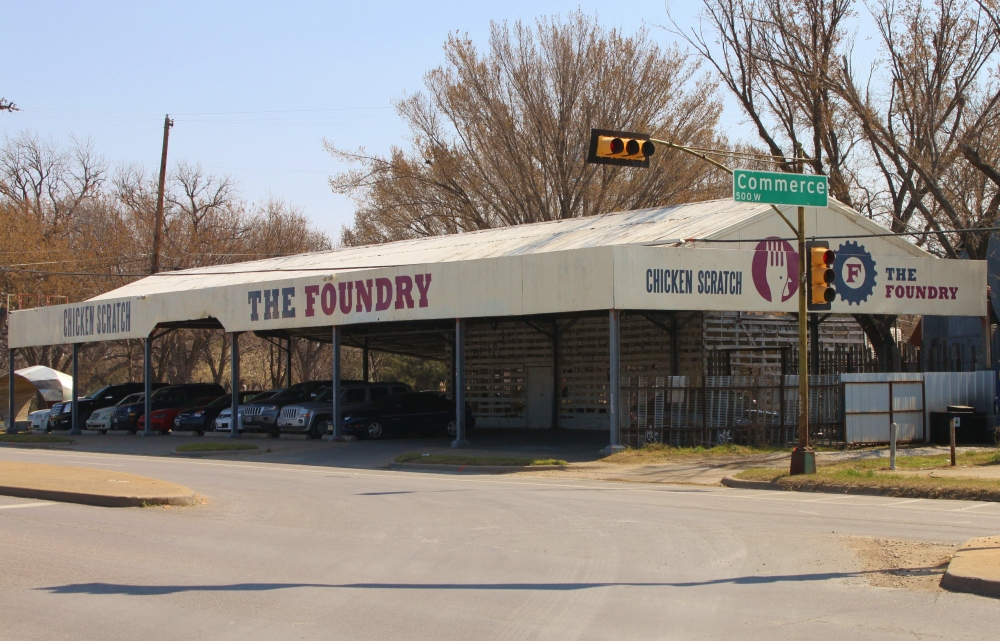 The Foundry and Chicken Scratch in Oak Cliff Dallas