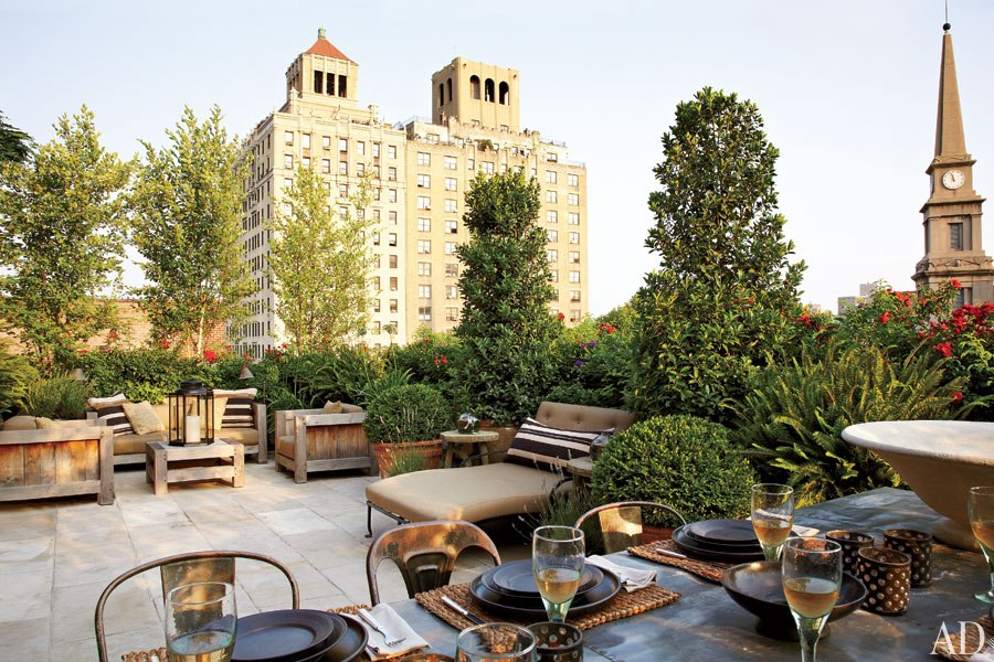 View from the Patio at Goldfarb/Paredes East Village Penthouse