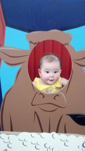 Baby Maddie in Cow Head