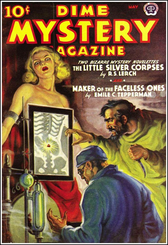 Dime Mystery Magazine Pulp Novel