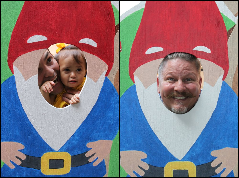 Gus Lili and James Gnome Collage