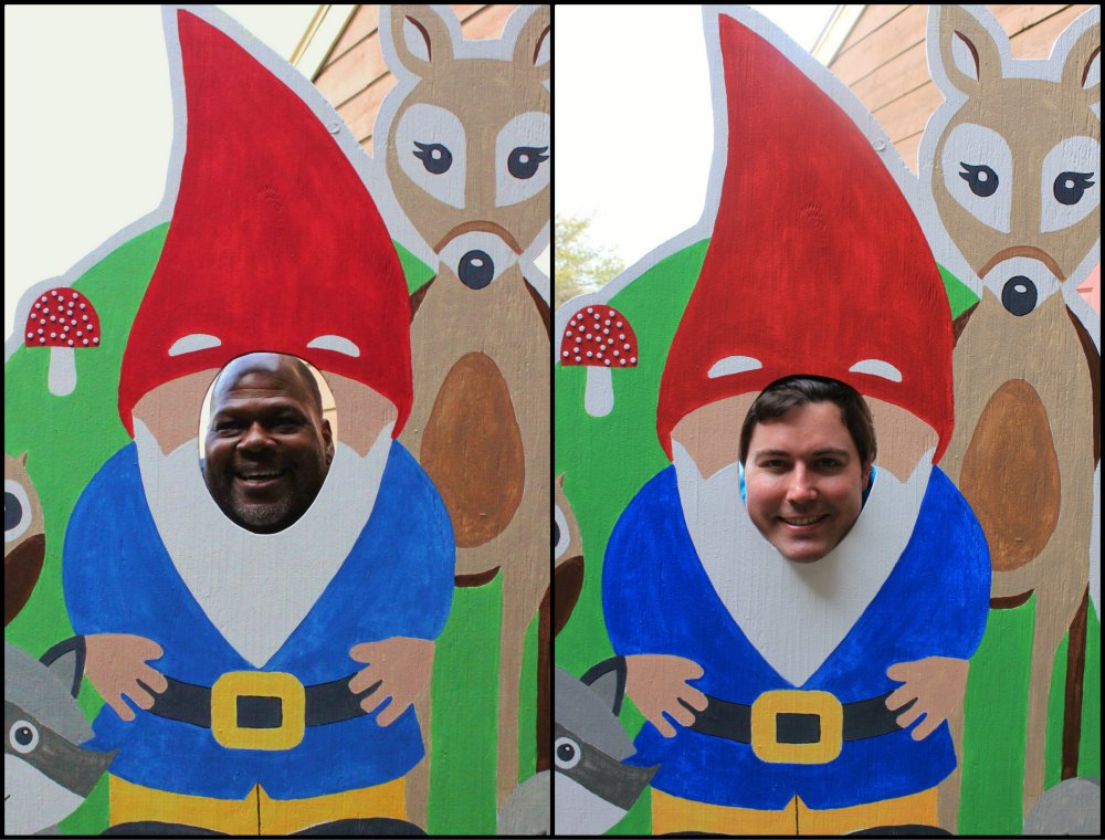 Ivan and Gert Gnome Collage