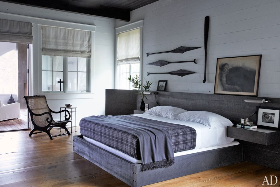 John Mellencamp's South Carolina House Bedroom