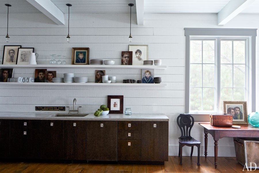 John Mellencamp's South Carolina House Kitchen