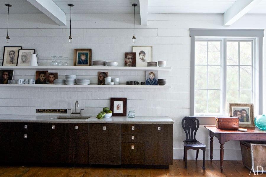 John Mellencamp's South Carolina House Kitchen