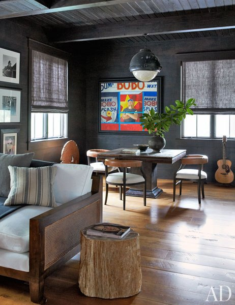 John Mellencamp's South Carolina House Movie Room