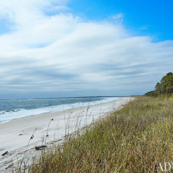 John Mellencamp's South Carolina House Private Beach