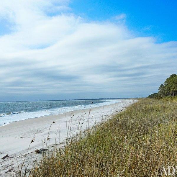 John Mellencamp's South Carolina House Private Beach