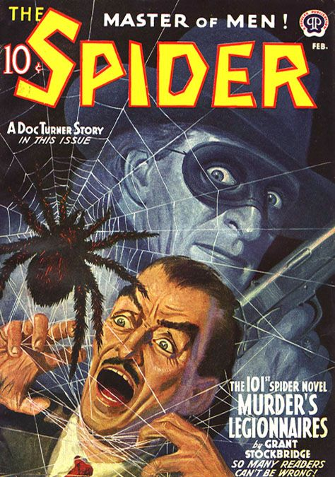 Master of Men the Spider Pulp Novel