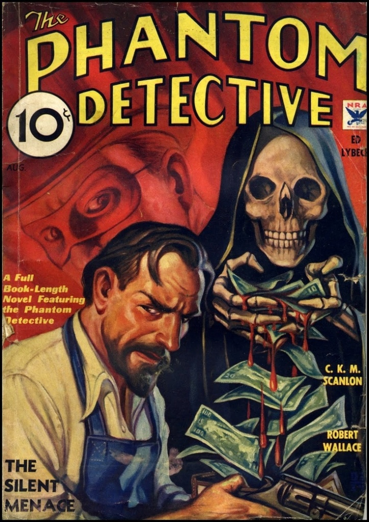 Phantom Detective Pulp Novel